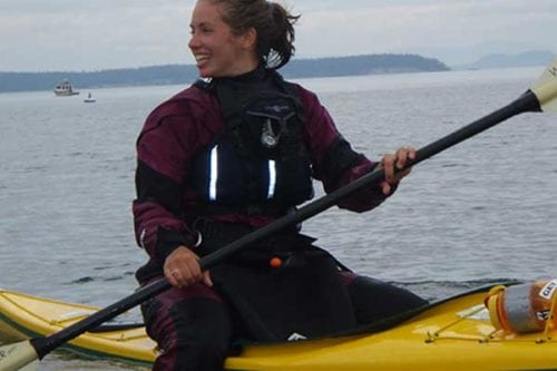 Beginner kayaking classes near Seattle, Washington