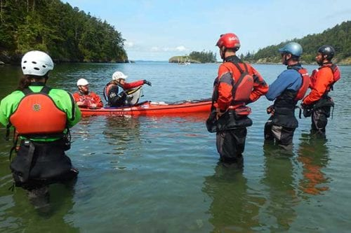 Sea Kayak Coaching, Seattle WA