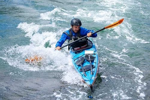 Tidal Progression, kayak class in Deception Pass