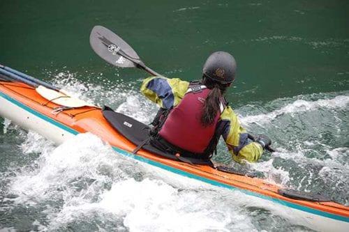 Kayak skills class, near Seattle Washington