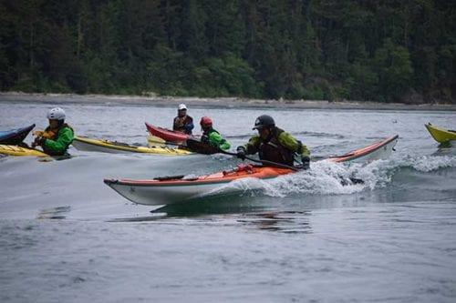 Deception Pass Kayak Classes