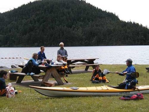 Learn to Sea Kayak, Washington State