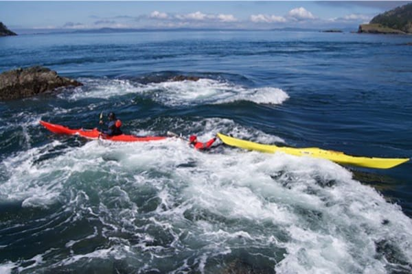 Advanced Sea Kayak Skills Training, Anacortes Washington