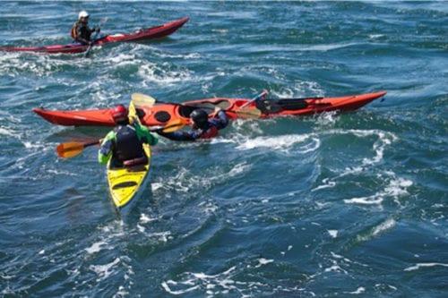 Kayak instructors, San Juan Islands