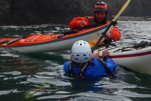Learn to sea kayak near Seattle, Washington