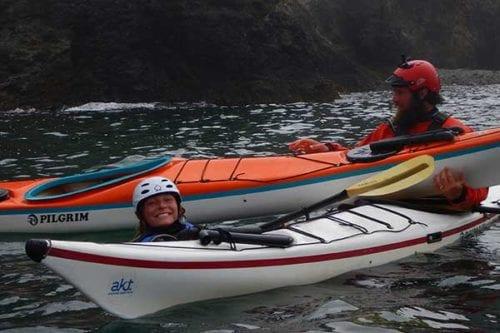 Sea kayak classes near Seattle, Washington State