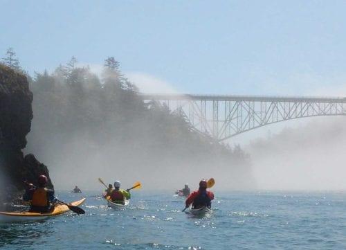 Sea Kayaking, Deception Pass