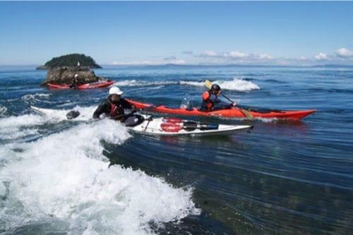 Tidal Progression Kayak Class, Washington State