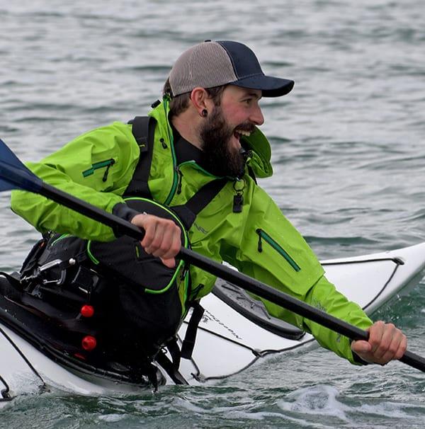 Alex LaLonde, kayak coach, Body Boat Blade
