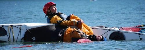 Kayak rescue classes, Washington State