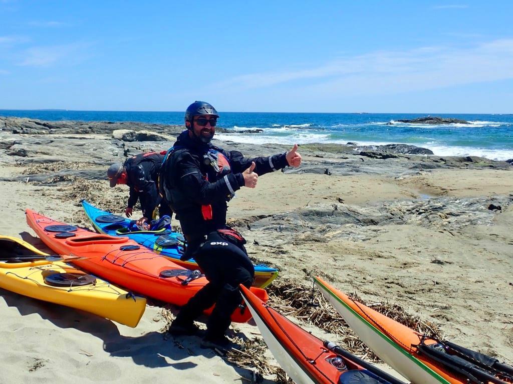 sea kayak leader
